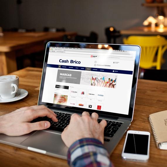 Diseño de tienda online para Ferretería Cash Brico - Softmedia